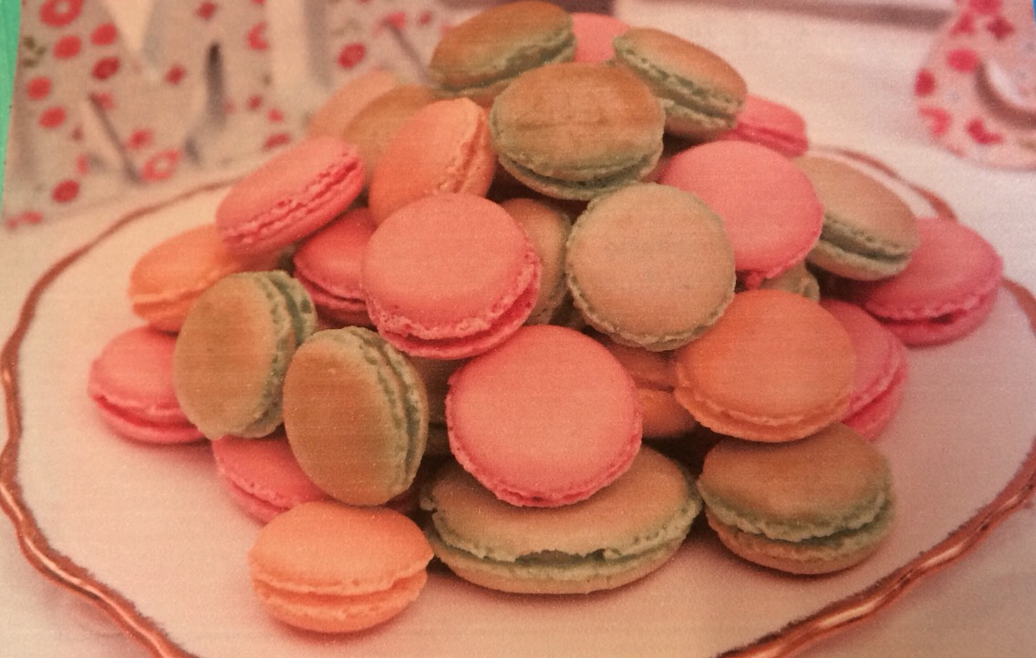 Pastel macarons, lovely as a centrepiece of as favours