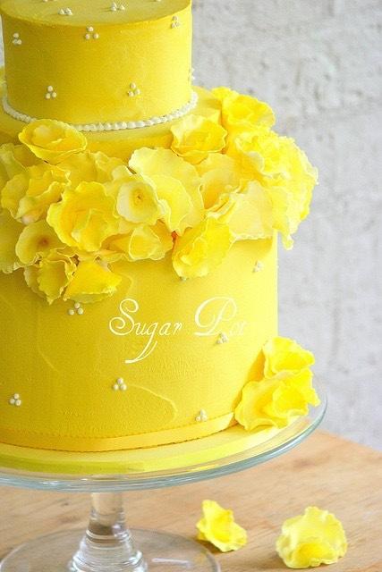 Spring Daisy cake