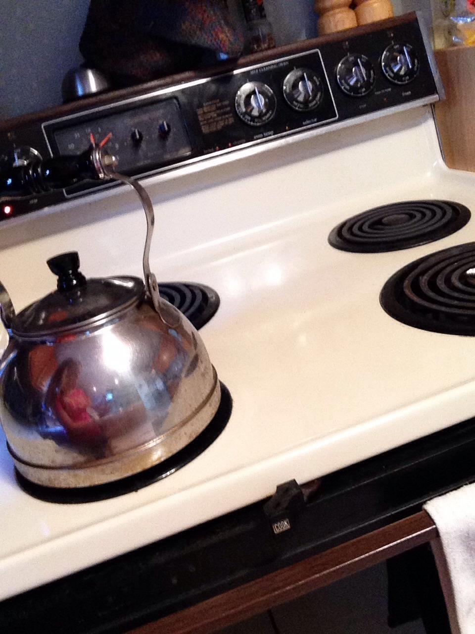 1st boil water