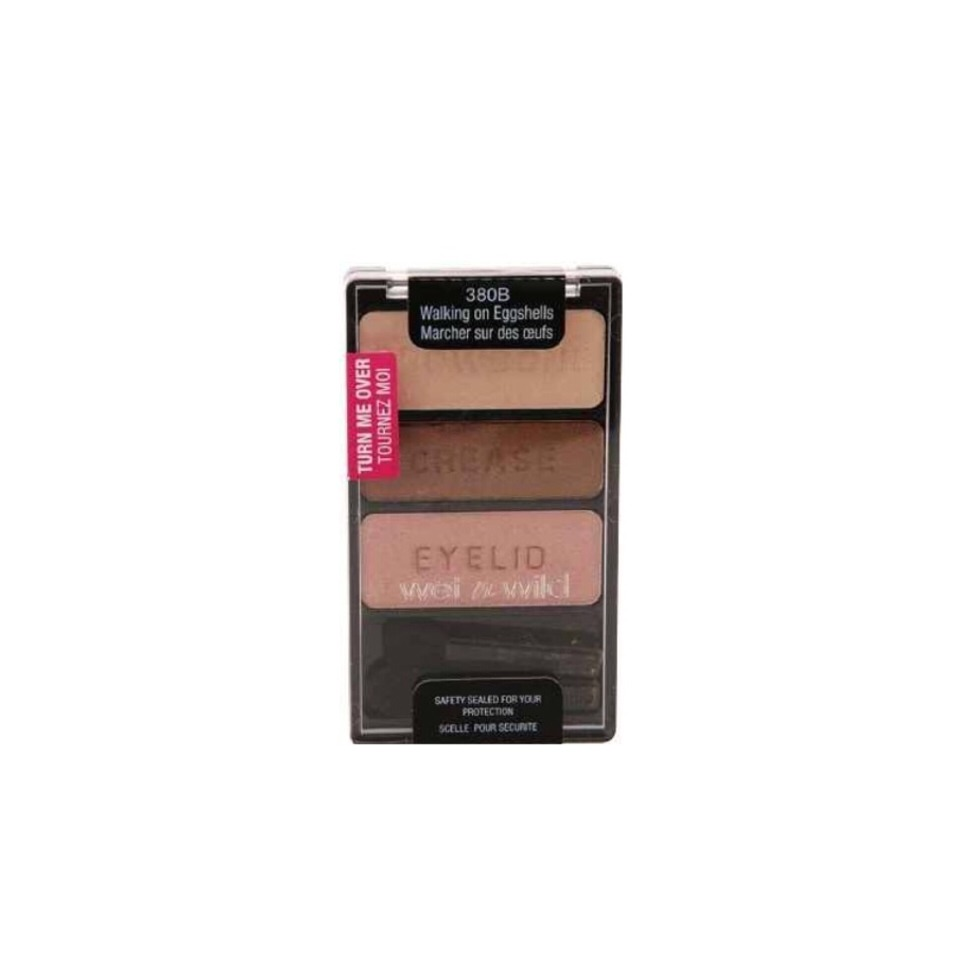 Wet n Wild Color Icon Collection Eyeshadow Trio When you want one step up from natural, this palette will give you just the slightest pop of color. $2.99 at most Drugstores.