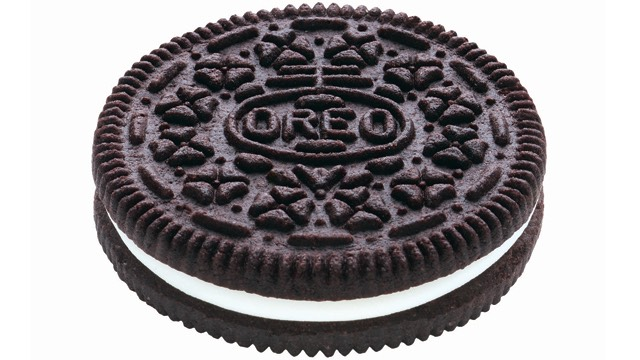 6 Oreo crumbs (without the cream) ( any other chocolate flavored cookie will be good)