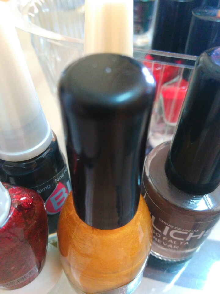 Step one: Apply your favorite nail polish