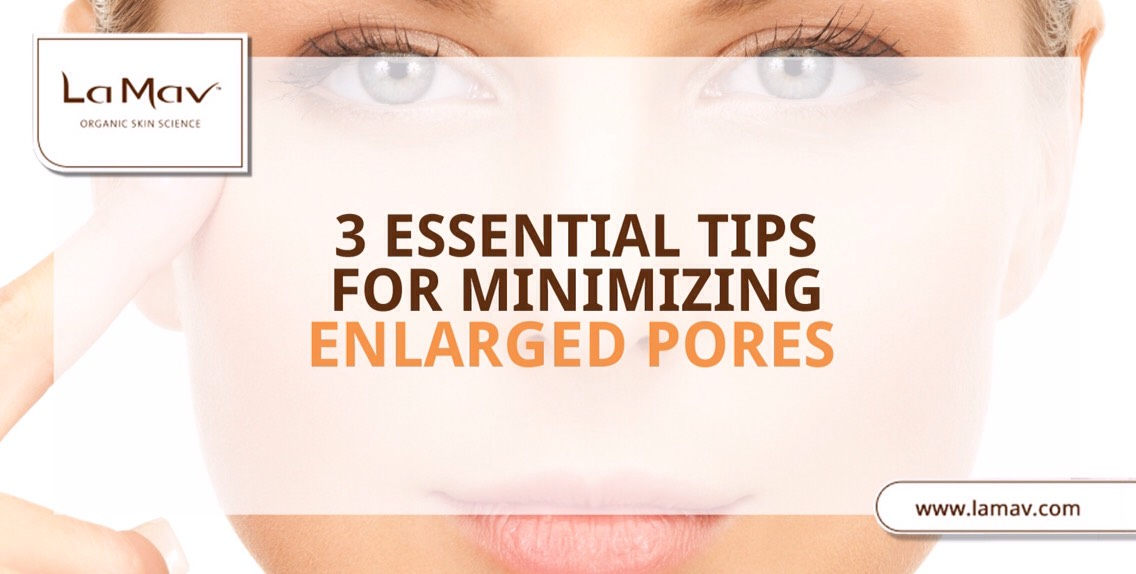 PRIMARY CAUSE| Theformation of blackheads. When sebum hardens inside the pores, the formed clogs expand pores' diameter + make them look bigger. Apart from blackheads, other factors that contribute to the formation enlarged pores are aging, genetic predisposition +poor skin care habits.
