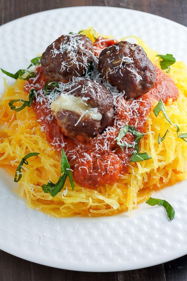 Shredded spaghetti squash is a wonderful base for many recipes, and you can use it to replace pasta, potatoes or rice. Healthy and hearty, roasted spaghetti squash pasta is made with just two ingredients in a few very easy steps.