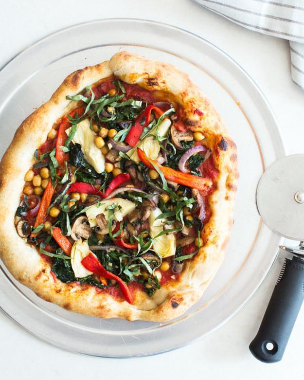 12. Very Veggie Vegan Pizza