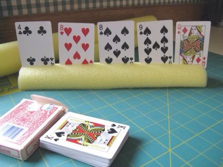 Card holder for cards!