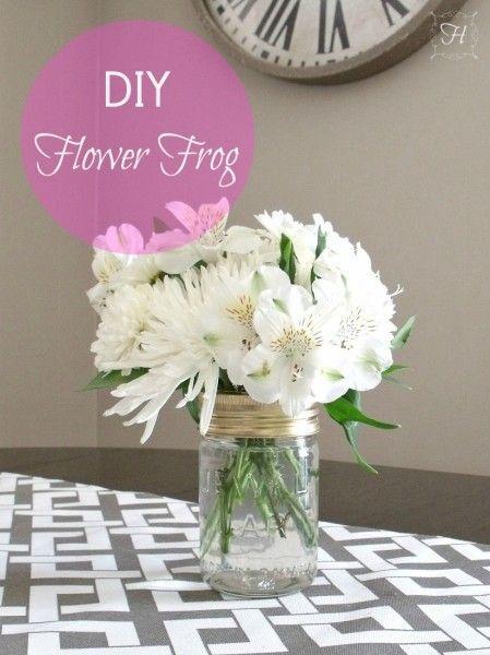 Mason Jar Flower vase!