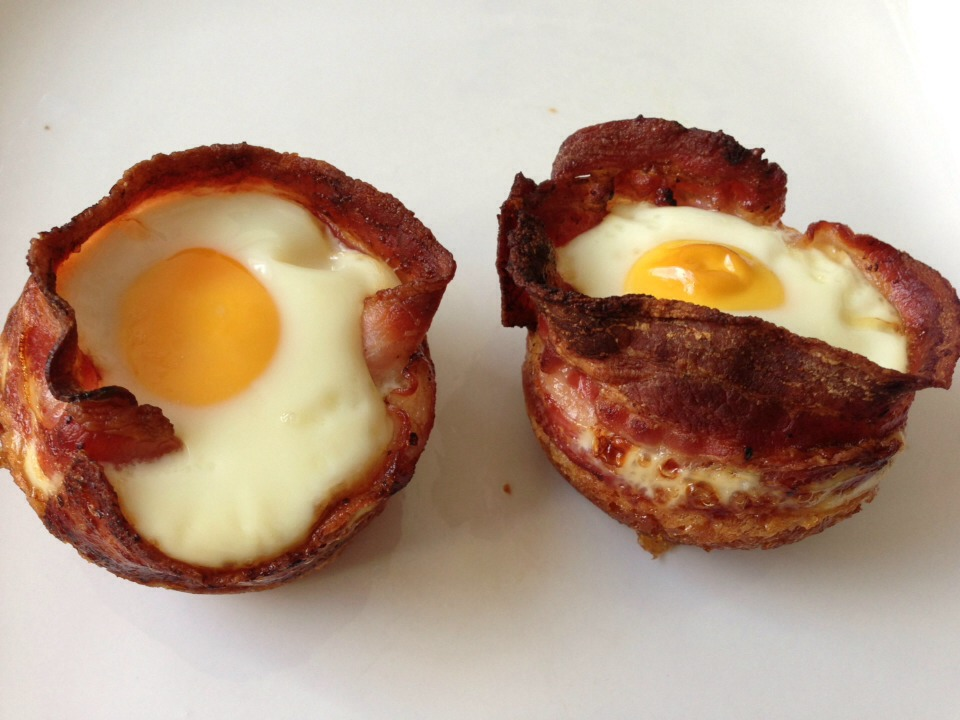 2. Baked Bacon Egg Cups