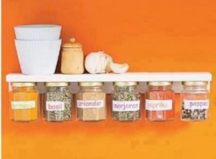 Enjoy in your organized kitchen shelf This is how your kitchen will look like after making this super cool project.