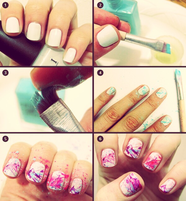 Attractive Nails in Just 6 steps 💅💅