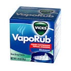 After shower for a cough put vapor rub on bottom of foot helps them sleep better
