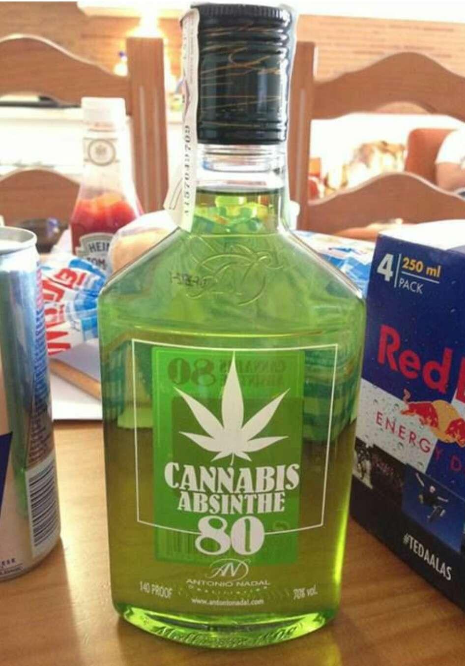 Абсент марихуана про дикую коноплю
