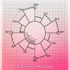Use a chronodex to organize your entire day. This is a great visual way to see your plan for the day. Just colour in the areas that you're busy, and label if. You can be creative with the way you fill in the time slot!