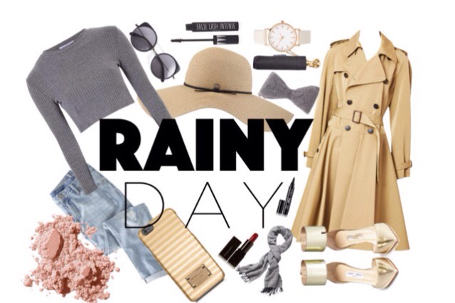This outfit is perfect for a rainy day since you you have you trench coat but your still comfortable with you jeans, cotton sleeved shirt and scarf this looks cute and you keep warm all throughout the day!