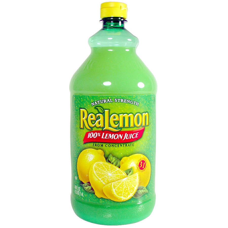 1tbs of natural lemon juice