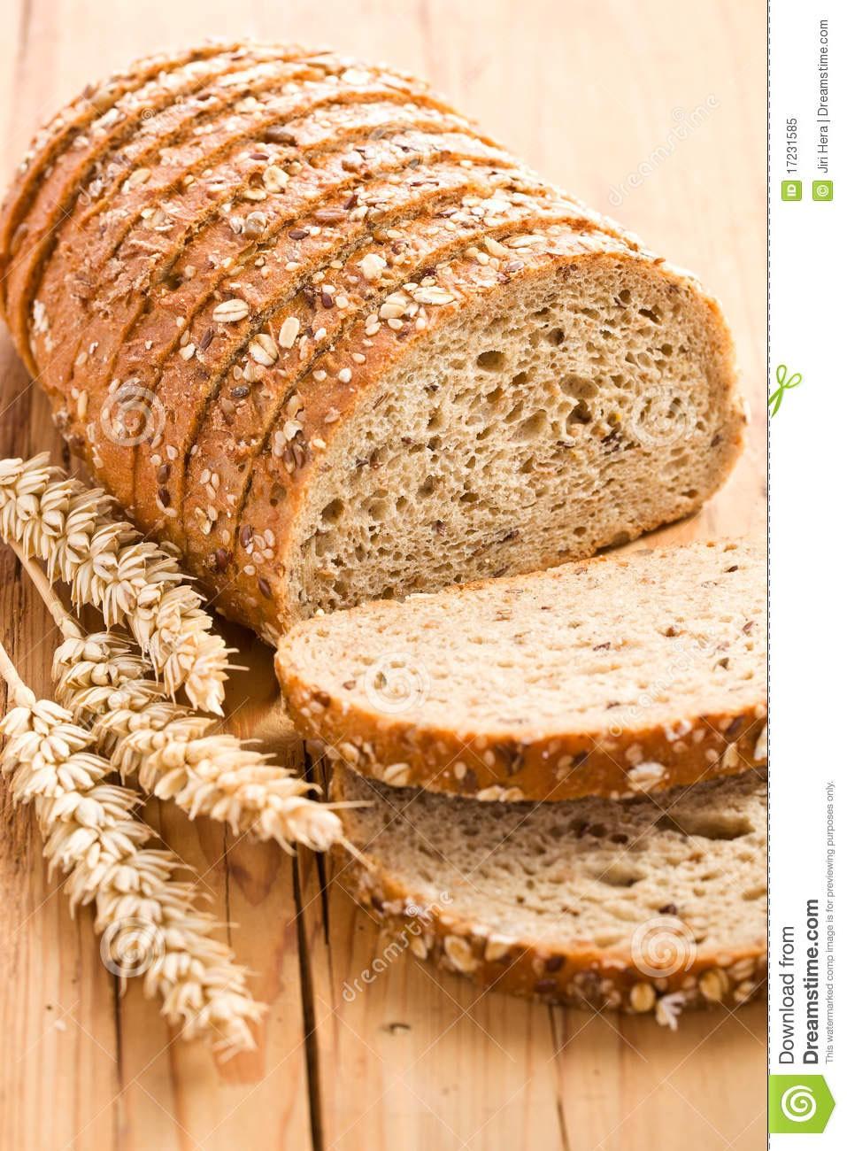 6) whole wheat bread