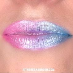 10) Again, these colors are so beautiful together, so you could always do an ombre rose quartz to serenity lip look!