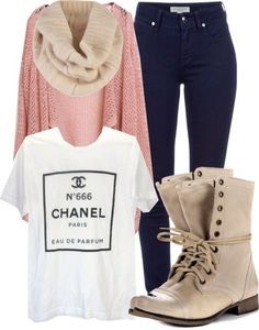 This is a very cute fall outfit and something I would definitely do