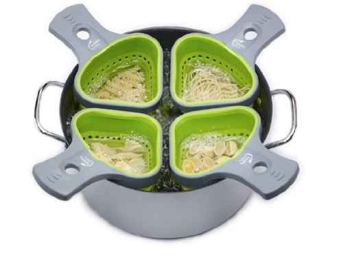 8. Divided Pasta Colander