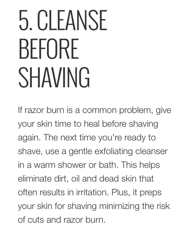 how to get rid of razor burn overnight