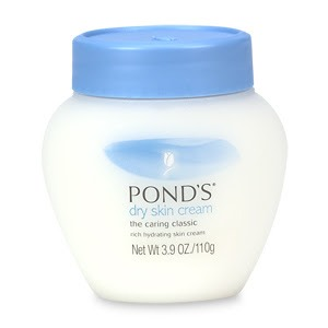 LASTLY I sometimes stick with the original Ponds cream. This is best used when your skin is on the dry side, or overnight.