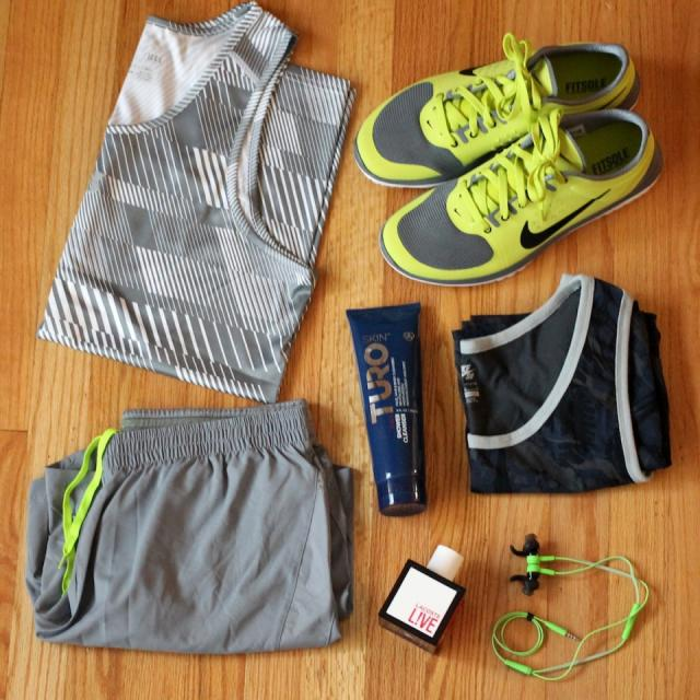 Gym gear If your man's a fitness freak, why not get him a workout top, gym bag, or nice water bottle?
