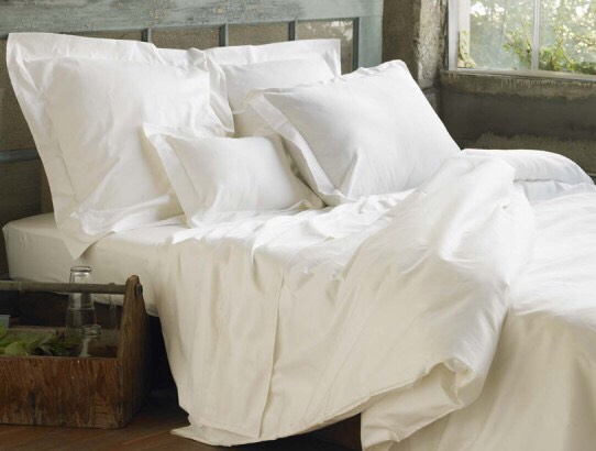 1. SOFT WHITE SHEETS ARE A MUST (duvets and layers on layers of bed covers)
