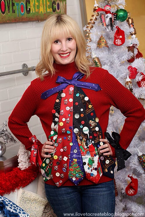 Ugly Christmas Sweater Ideas.Ugly Christmas Sweater Ideas By Felicia Lynn Musely