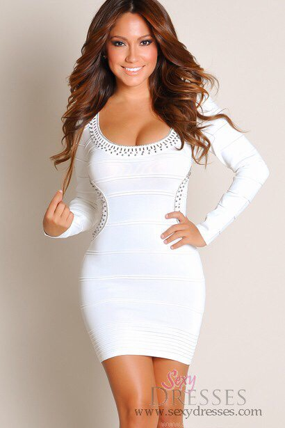 "The little ""white"" dress? Maybe. I say this gives the appearance of pure, but ready to get dirty!"