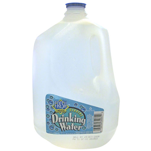 well first of all, you're going to need a container that holds a gallon of water, or you can measure how many bottles or cups of water it takes to get to a gallon.. I believe there are 128 ounces in a gallon (google told me 😂) so if you have a 16.9 oz bottle, I think maybe 7 or 8 of those will work