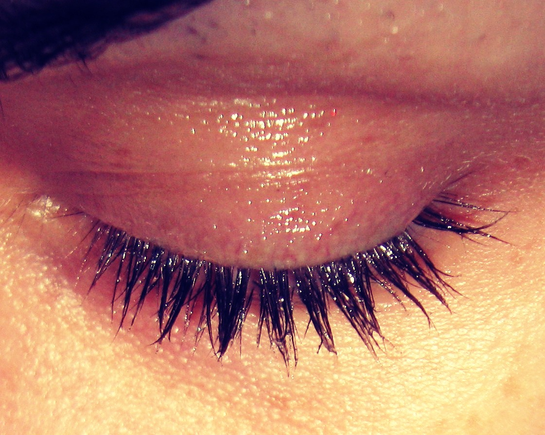 If you out Vaseline on your eyelashes every night before you go to bed, they will grow longer and thicker. At first when you put it on your eyelashes it might look a bit greasy, but in the morning it won't be like that.