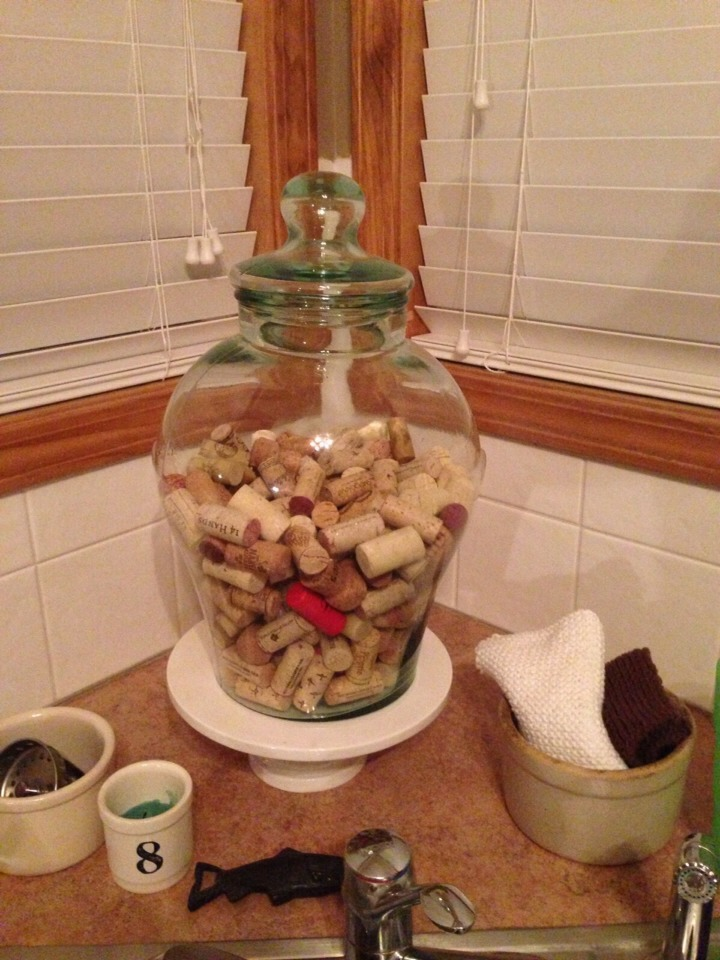 Recycle your wine corks.