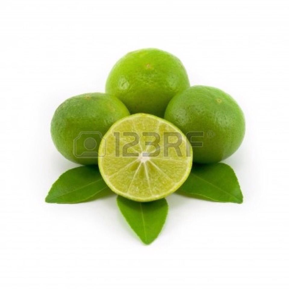 Just grab a lime half and spread it on No nasty smell...promise😊