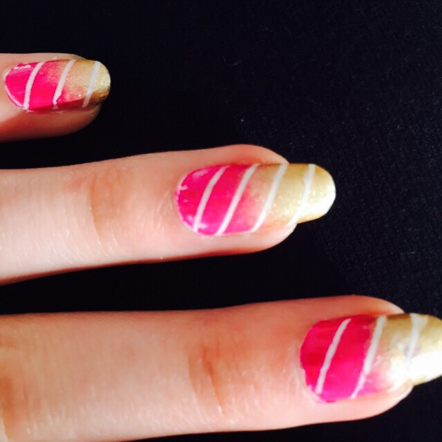 Add stripping tape on top of a base colour to create a stripe affect !!