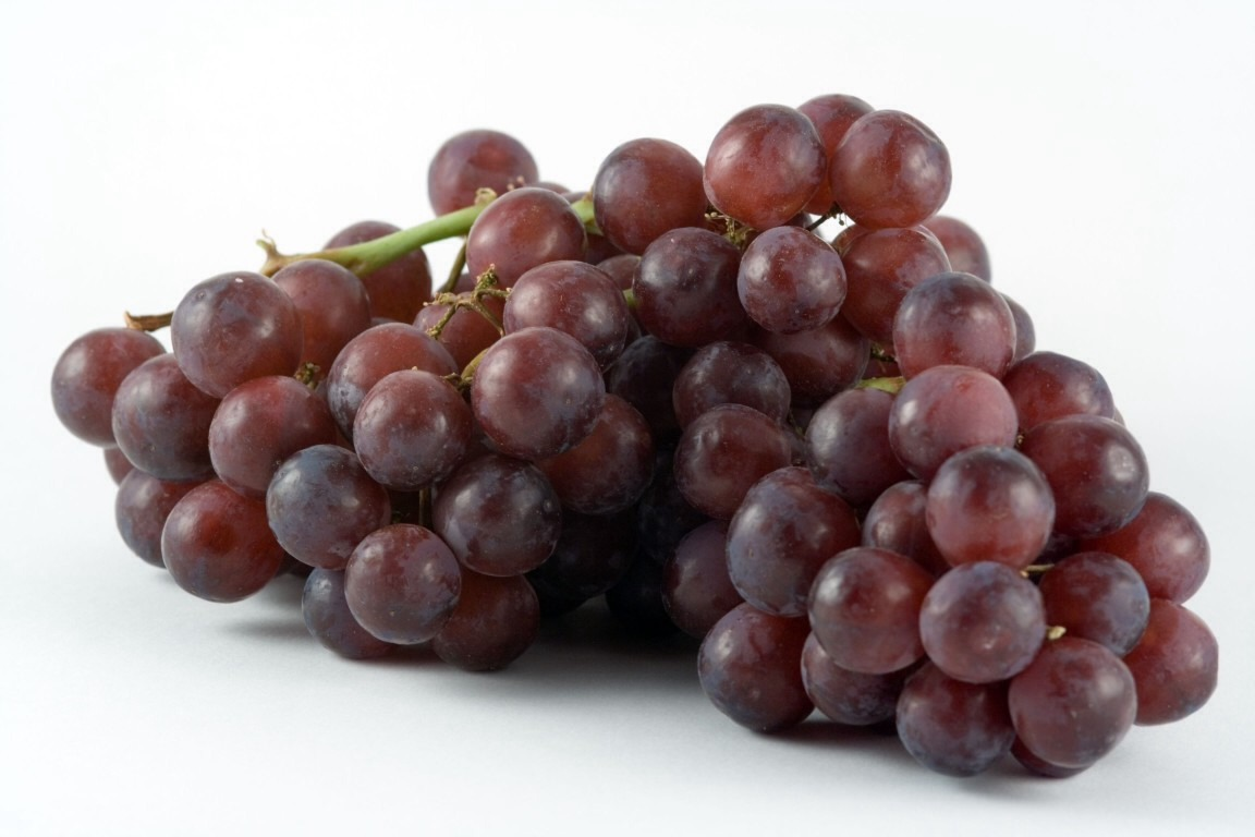 #8 grapes, tasty and full of antioxidants.