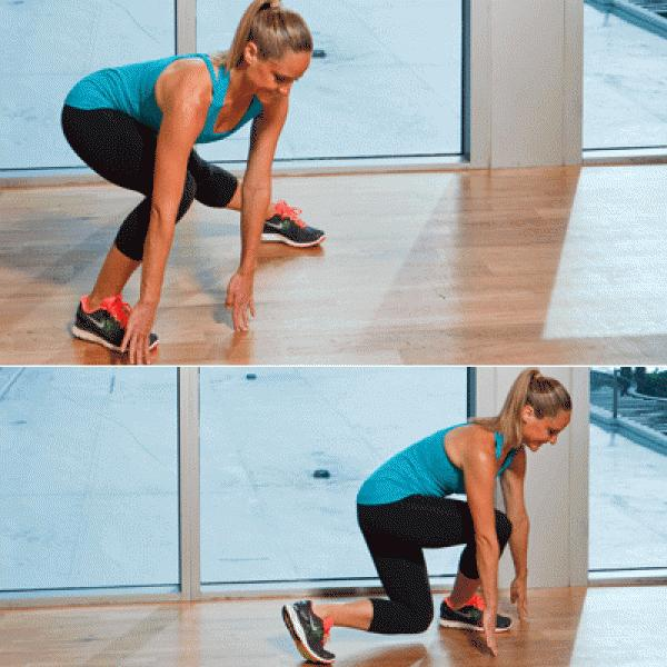 Problem: Inner-Thigh Bulge Solution: Side & Cross Over Lunges