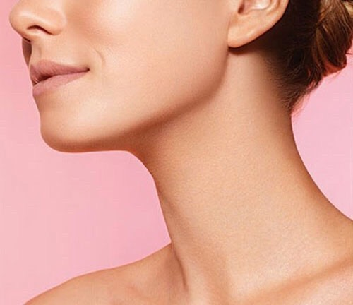 The base of your neck so if someone walks past you they can smell you!!