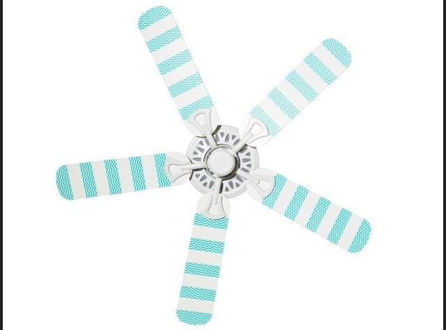 duct tape your fan in stripes😍