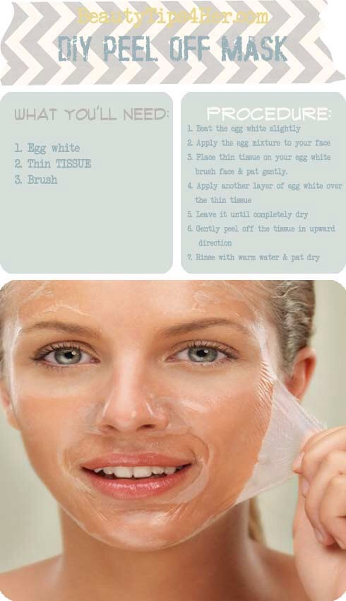 Lastly peel you mask off, rinse your dance one last time. And moisturize :)
