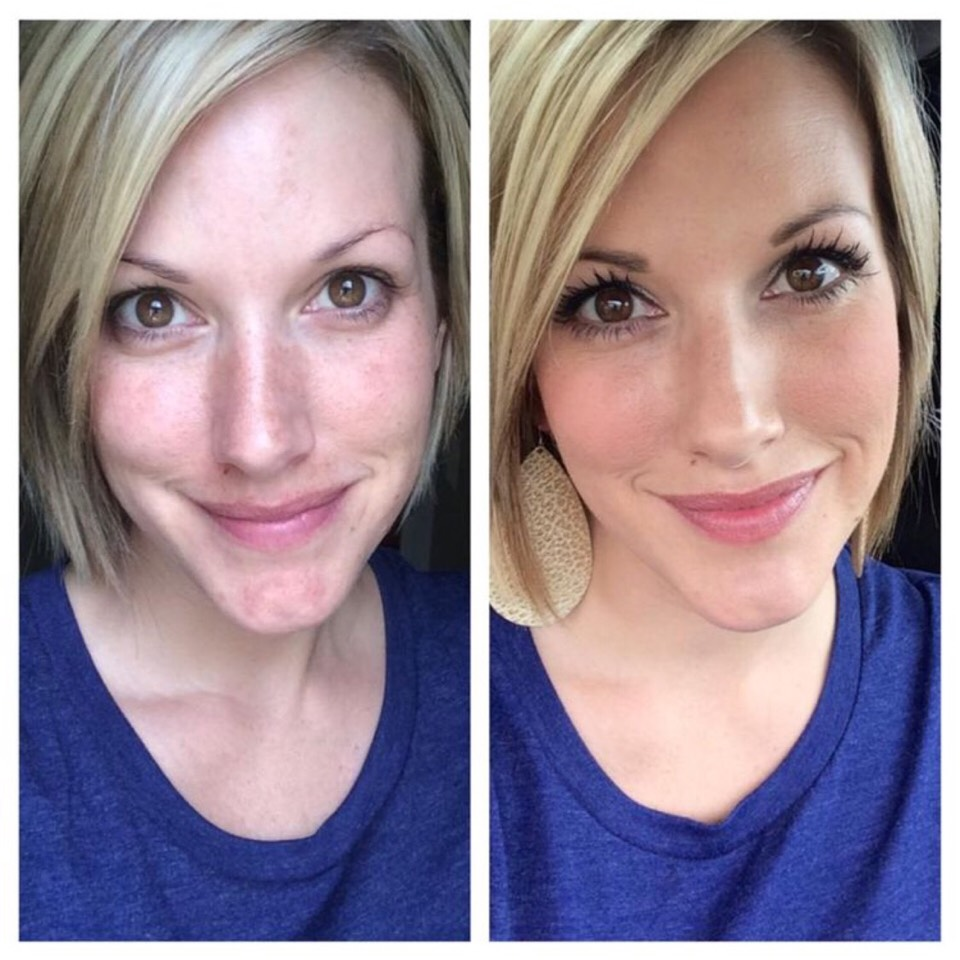 Younique products are COMPLETLY, 100% NATURAL! Stop putting chemicals on your beautiful face and check out Younique's entire lineup here...Look at how AMAZING the transformation can  be with natural makeup!  https://www.youniqueproducts.com/JessicaField/party/1431105/view