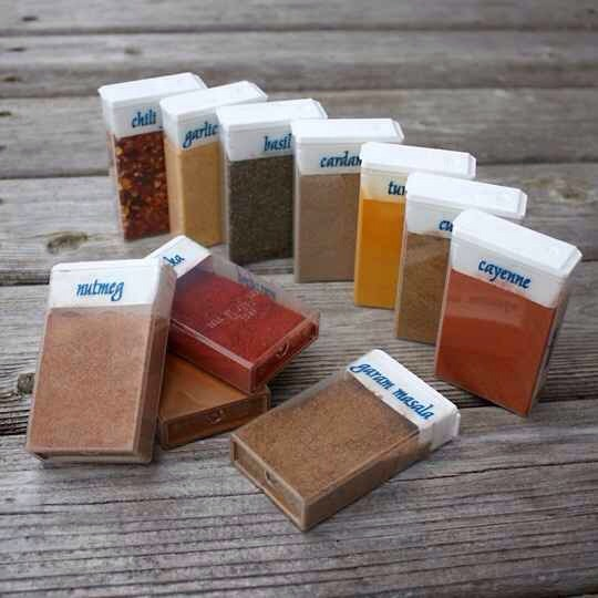 28. Tic Tac Containers Make the Perfect Spice Storage