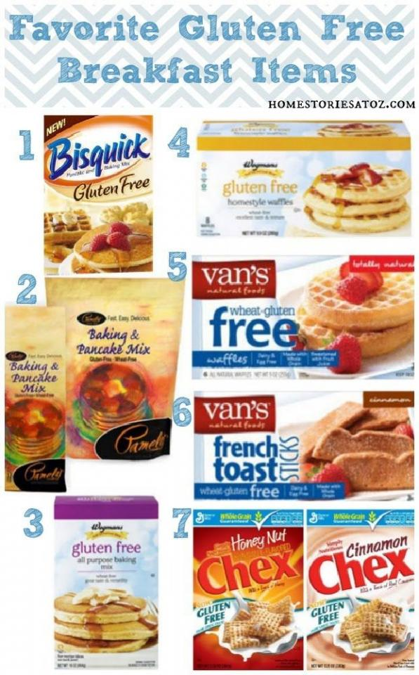 all these products are the best to have in your house for gluten free meals