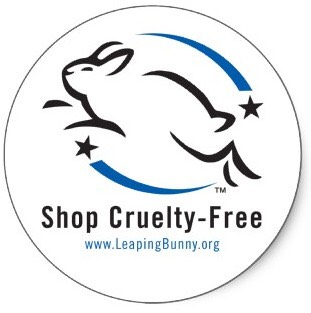 The Leaping Bunny Cruelty Free Certification Thislogo is grantedto manufacturers of cruelty-free products—those that refrain from animal testing and refuse to purchase ingredients and raw materials that have been developed or tested with practices including animal cruelty.