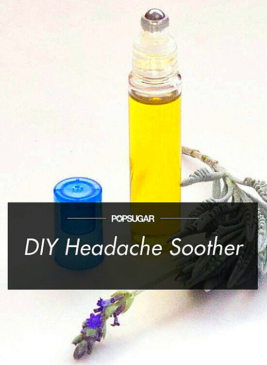 Headaches are no fun, and when one comes on, you want to get rid of it fast. Before popping pills, try this all-natural soothing combination of essential oils that does wonders on pounding temples.