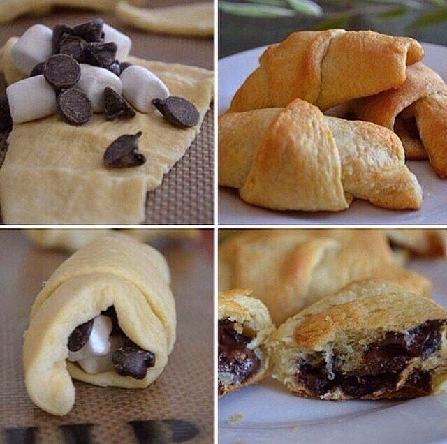 S'more Pastries😍🍫