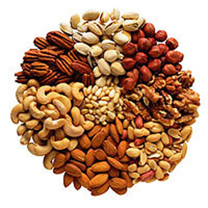 Nuts and seeds are very rich in fibers and they also provide source of protein and healthy unsaturated fat for vegetarians.