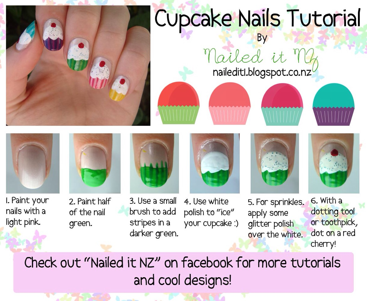 Easy Donut Nails YouTube Musely