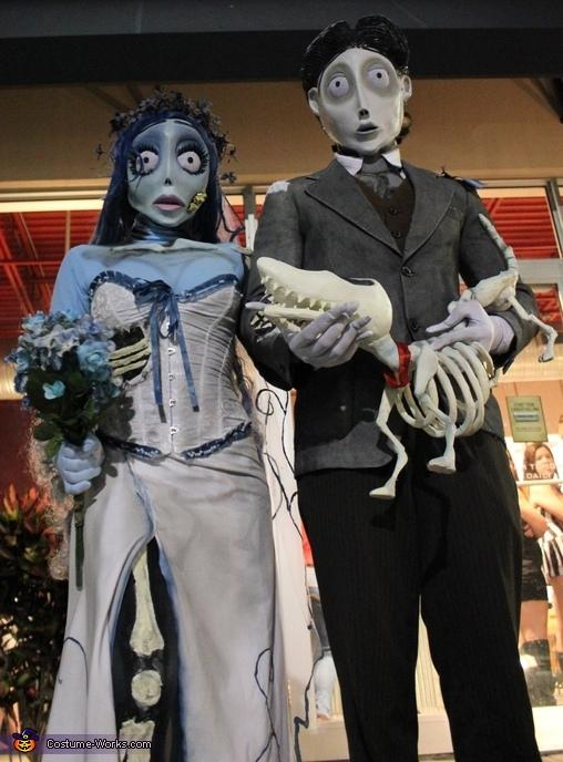 Corpse Bride and Groom