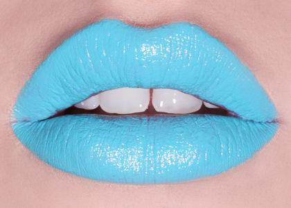Anyone brave could try this serenity lip! Not for everyone but will look so cute if you have the confidence for it!