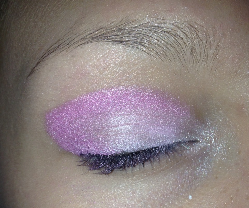 Add some sparkle to corner of eye! Looks sharp(: